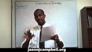 33. Epistemology Lecture Series: Section 1.4