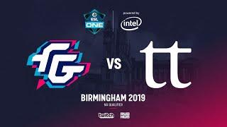 Forward Gaming vs Team Team, ESL Birmingam NA Quals, bo3, game 1 [Lex & 4ce]