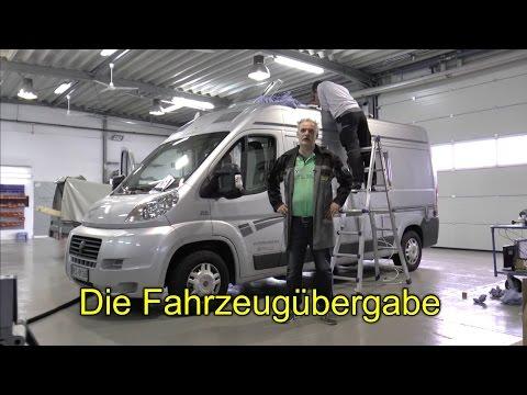 """""""Die Fahrzeugübergabe"""" Götz erklärt Wohnmobiltechnik"""