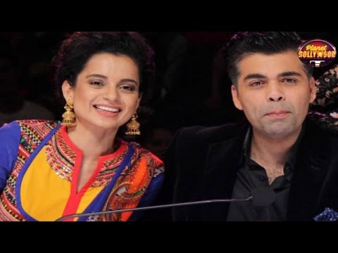 Karan Johar Wants To Mend Ways With Kangana Ranaut