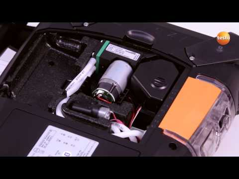 testo 350 Gas Analyser - Step 13 - How to Change The Recharg
