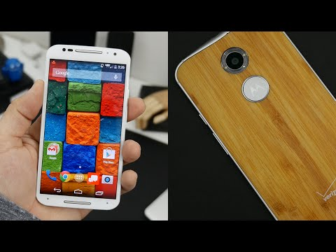 video review - Moto X (2014) 2nd Generation full review! Will Motorola's Moto X (2014) compare to the Galaxy Note 4, Nexus 5, Nexus 6, iPhone 6, LG G3, and others? Today, I'm reviewing the 2014 Moto X to...