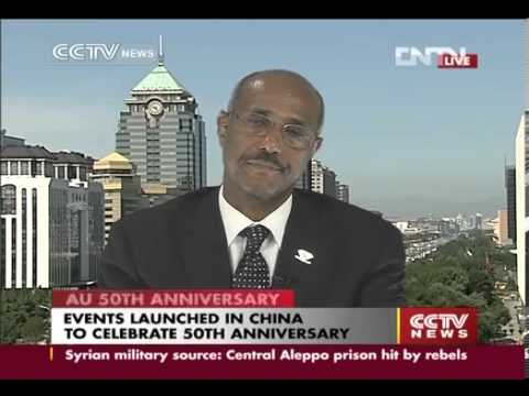 african - cctv interview with ambasader Siyoum Mesfin.