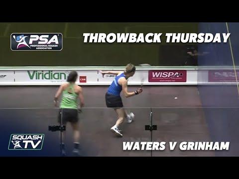 Squash: #ThrowbackThursday - Waters v Grinham - 2010 Australian Open SF - Extended Highlights