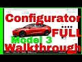 Download Lagu Tesla Model 3 Configurator Walkthrough Full with all options 4k Mp3 Free