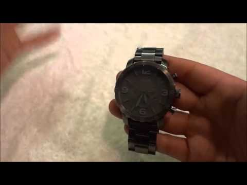 , title : 'Fossil Nate Watch Review-With Chronograph (JR1400)'