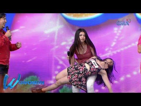 Wowowin: 'Sexy Hipon' Herlene, nilampaso sa aktingan ang isang contestant!