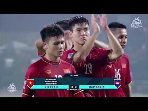 Hightlights | Việt Nam 3 - 0 Campuchia | Vòng bảng AFF Cup 2018 | BLV Quang Huy - Thời lượng: 2 phút, 6 giây.