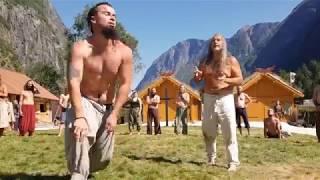 This is Glima!! Viking martial art…