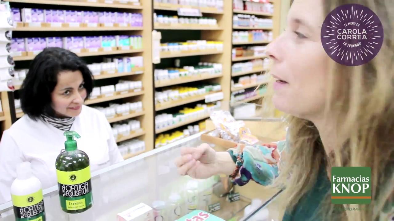 Farmacias Knop – caída del cabello