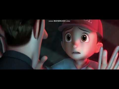 Astro Boy: Toby is killed by the red core robot