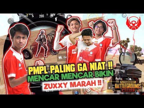 RED ALIENS BOSEN TURNAMEN !! BIKIN ZUXXY MARAH DAN KONSENTRASI PECAH !! - PUBGM INDONESIA | Microboy