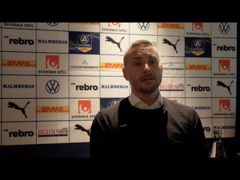 Presskonferens efter 2-2 hemma mot IF Elfsborg