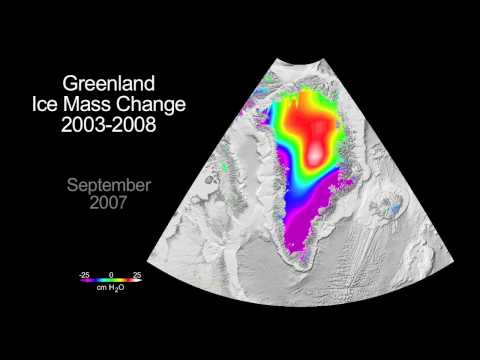 Greenland Gains Some Ice, Loses More [HD]