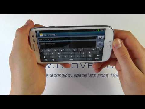 Samsung Galaxy S III (S3/GT-I9300) Unboxing