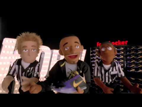 Foot Locker x Nike Basketball   MVP Puppets   Zoom Kobe V (5) Commercials | Video