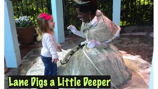 When Lane was just a tiny nugget, she visited Princess Tiana at Walt Disney World and they had a ball!
