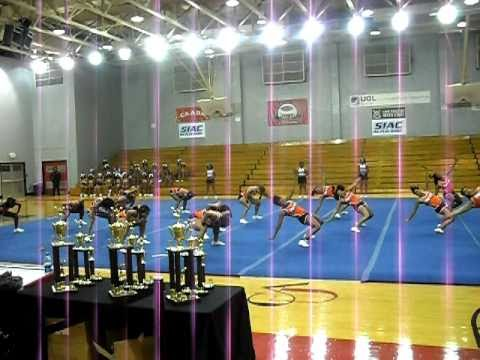 Claflin University Cheer