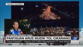 Video Hari Ini Puncak Arus Mudik Kedua di Tol Cikarang - Cece Kosasih, Deputy GM Traffic PT Jasa Marga MP3, 3GP, MP4, WEBM, AVI, FLV Maret 2019