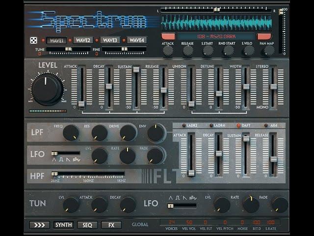 Wave Alchemy Spectrum Overview