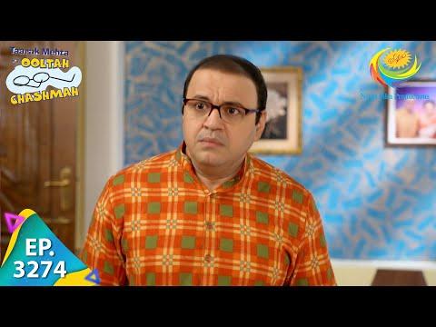 Taarak Mehta Ka Ooltah Chashmah - Ep 3274 - Full Episode - 12th October  2021