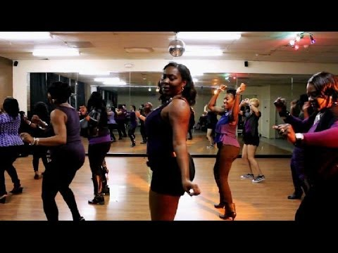 Big Thang 4 Big Girls Line Dance Music Video (BT4BG ) Kounty Line