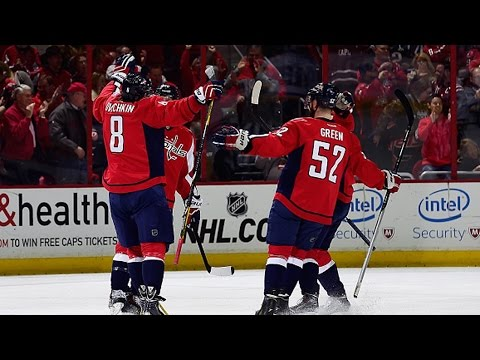 Video: Ovechkin scores 30th goal on power play blast