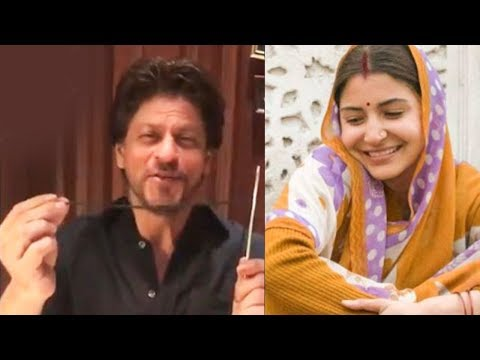 Shah Rukh Khan Does The Sui Dhaaga Challenge In Th