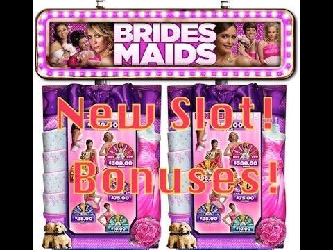 Bridesmaid Slot Machine-NEW!-BONUSES!