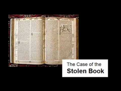 DETECTIVE STORY # 4 :: The Case of the Stolen Book