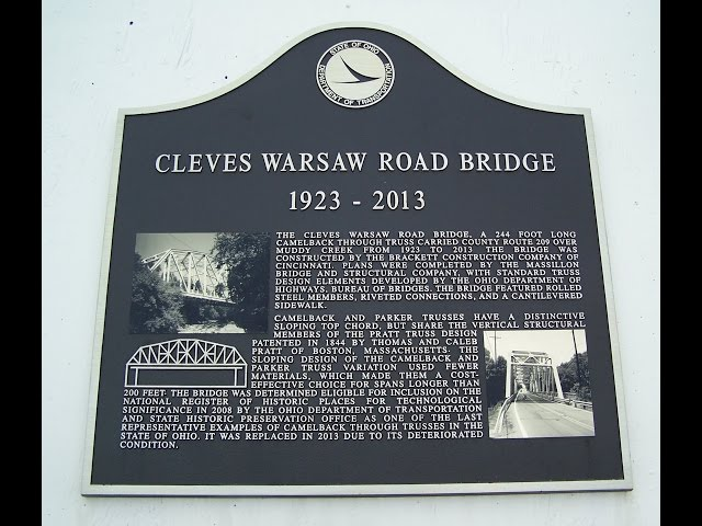 The Bridges of Cleves Warsaw,   Sayler  Park,  Ohio