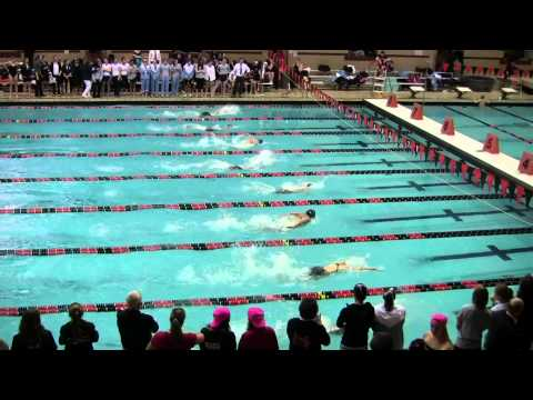 200 Individual Medley Finals 2011 Women's Ivy Champs