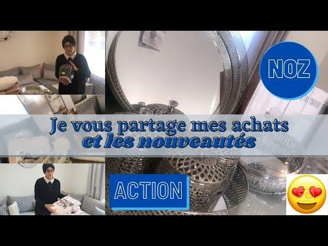 ✨  BIG HAUL ACTION ET NOZ  ✨  JE VOUS PARTAGE MES ACHATS ET LES NOUVEAUTES