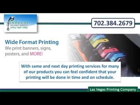 Las Vegas Printing company | FranklinDocs.com