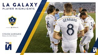 Watch highlights of Steven Gerrard's incredible debut for the LA Galaxy.Want to see more from the LA Galaxy? Subscribe to our channel at http://www.youtube.com/LAGalaxy.Facebook: http://www.facebook.com/lagalaxyTwitter: http://www.twitter.com/lagalaxyWant to check out a game? Visit http://www.lagalaxy.com to view upcoming matches and purchase tickets!