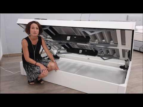Sommier matelassé abatant Dimaflex Apertura Motorizada Articulado