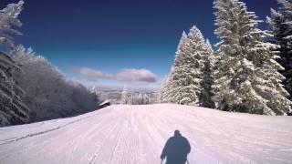 Predeal Romania  city photo : Predeal Romania Ski Trip 2015 GoPro