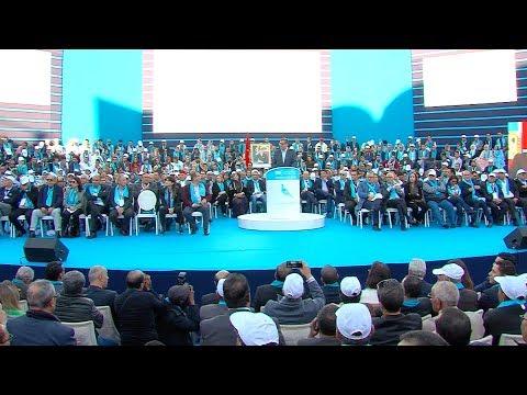 السيد عزيز أخنوش يقدم في أكادير الخطوط العريضة للعرض السياسي لحزب التجمع الوطني للأحرار