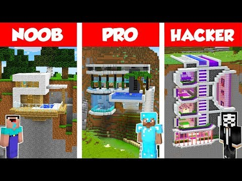 Minecraft NOOB vs PRO vs HACKER: MODERN MOUNTAIN HOUSE BUILD CHALLENGE in Minecraft 2 / Animation - Thời lượng: 18:28.