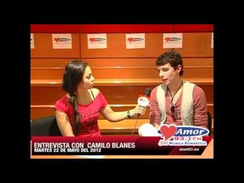 Entrevista con Camilo Blanes en Amor 93.1 Sólo Música Romántica