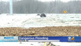 Dangerous Flooding Hits Nebraska, Forces Evacuations