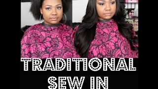 """THIS IS NOT A TUTORIAL..Just a video of me doing what I call the """"trendy sew in"""" on my list of services aka The Traditional Sew in..Hope you enjoy! More videos coming soon! HAVE YOU BEEN VOGUED?! Located in ATLANTA, GAIG @invoguemehairMAKE UP ARTIST @PrettyObsessedByAsia"""