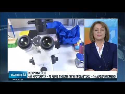 Σε εγρήγορση οι υγειονομικές αρχές-Κινητοποίηση όλων των τοπικών φορέων   20/03/20   ΕΡΤ