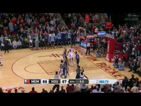 NBA Highlights: Grizzlies @ Rockets 1/24/2014