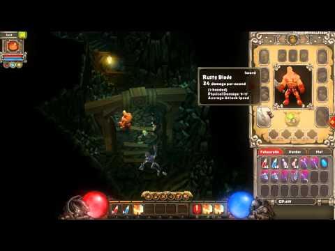 Torchlight Diablo 3 Edition HD gameplay