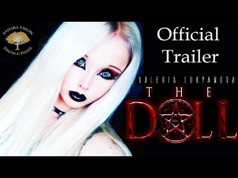 THE DOLL Official Trailer 2017 Horror Movie Valeria Lukyanova - Human Barbie