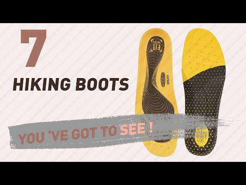 Insoles Hiking Boots For Men Collection // New & Popular 2017