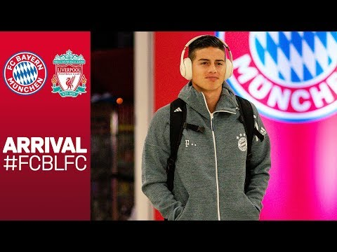 FC Bayern's Arrival At Allianz Arena | FC Bayern Vs. Liverpool FC