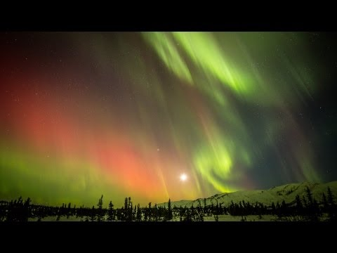 northern lights - A timelapse of the Aurora Borealis, Northern Lights, over Eureka, Alaska on March 16, 2013. Taken with a Canon 5D Mark III and 24mm f/1.4 and 70-200 f/2.8 le...
