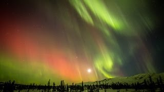 HD Northern Lights Timelapse, Eureka, Alaska March 2013